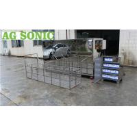 China Large Industrial Ultrasonic Engine Cleaner 360L 28khz For Engine Block Car Parts on sale