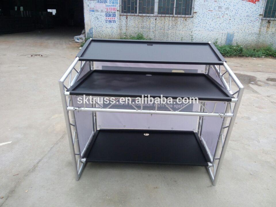 La table en aluminium mobile du bon march pour la cabine - Table alu pour marche ...