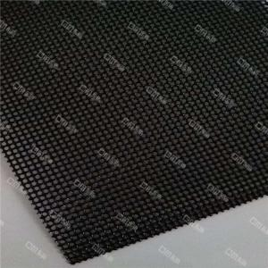 China 0.9mm Black Powder Coat Stainless Steel Wire Mesh / Security Screen on sale