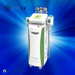 China Multifunctional slimming cryolipolysis+cavitation+vacuum+rf cryolipolysis beauty equipment on sale