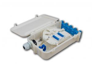 China PP ABS FTTx fiber optic termination box for SC FC LC ST adaptors supplier