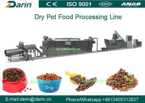 China Pedigree Pet Food Extruder For Dog / Cat / Fish , dog food machine on sale
