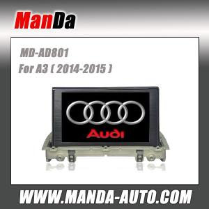 China 2 din car gps navigation for Audi A3 (2014-2015) car audio manufacturer on sale