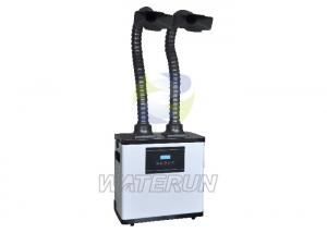 China Digital Control Lab Fume Extractor / Air Purifier with Double Fume Extraction Arms on sale
