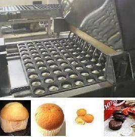 China Full automatic Cup cake production line on sale