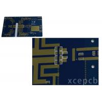 Rogers Arlon Taconic Radio Frequency Microwave Rfmw Pcb Double Layer Immersion Silver Surface