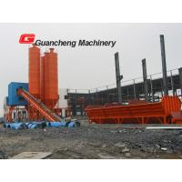 Yellow hzs40 concrete batching plant Hopper Modular High Profit