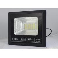 China Waterproof 60 Watt Solar Powered LED Flood Lights Outdoor With Motion Sensor on sale