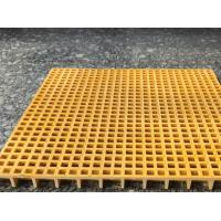 FRP Plastic Floor Grating Acid / Alkali Resistant 25 X 38 X 38mm Dimension