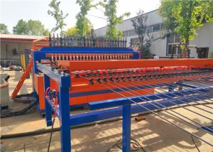 China BRC Rebar Wire Mesh Fence Welding Machine Touch Screen Interface 5.2T / 8.5T on sale
