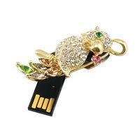 China Customized Design Birds Shape Jewelry USB Flash Drive, High Speed USB 2.0 Flash Stick on sale