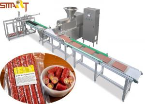 China 100 - 300kg/H Pet Food Extruder Machine With Two Layers Belts Design on sale