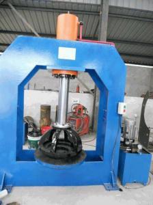 China machine hydraulique de presse de pneu du chariot élévateur 6.00X9 avec la soupape de sécurité à haute pression on sale