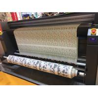 110V / 220V Automatic Fabric Printing System / Inkjet Fabric Printing Machine