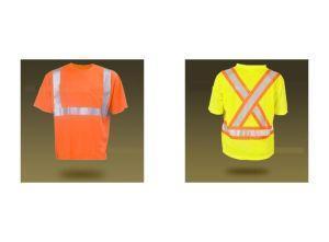 China Chaleco reflexivo de la camiseta de la seguridad En471 de la alta de la visibilidad camiseta reflexiva reflexiva de la seguridad on sale