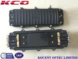 China Horizontal Fiber Optic Splice Closure PC Material IP65 Aerial Joint Enclosure Box KCO-H2295 on sale