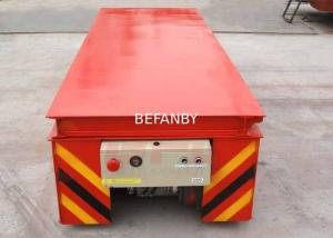 China Simple Structure Sale Service Provided Rail Dumping Platform Transfer Cart on sale
