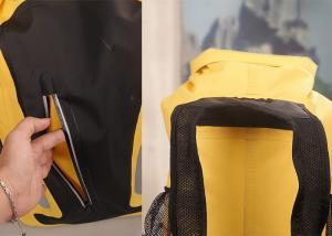 Quality Custom Dry Bag Backpack 25 Liter 500d Pvc Tarpaulin Material For Swimsuit for sale