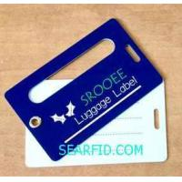 Luggage complete set Card, Airways Baggage Label, with corns clasp