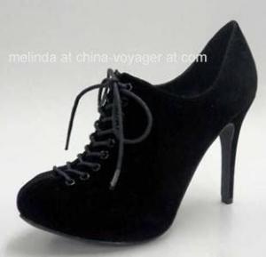 China Black Lady Fashion Shoes on sale