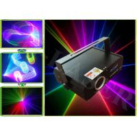 China 300mw Small Professional Stage Lighting Effect , SD Card Laser Show System on sale