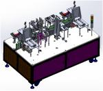 High Efficiency Battery Production Equipment Bending And Sealing Machine