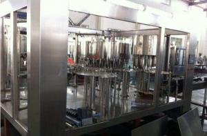 China Washing Filling Capping Food Filling Machine Three In One 5000bph - 7000bph on sale