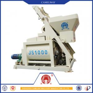 China New Hot Superior Quality 1000L Twin Shaft Concrete Mixing MachineCement Mixer for Sale with Factory Price on sale
