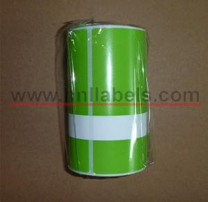 China Etiquetas sintéticas dos testes para impressoras portáteis da zebra RW420 (verde) on sale