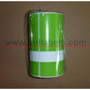 China Étiquettes synthétiques d'essai pour les imprimantes portatives du zèbre RW420 (vert) on sale
