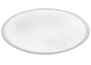 China Aluminum Expanded Mesh Wire Pizza Baking Tray , Metal Pizza Net 6-20 Inch on sale