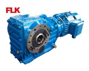 China KA-A Hollow shaft Helical Bevel Gear reducers on sale