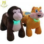 Hansel amusement park electric scooter plush animal coin toy ride