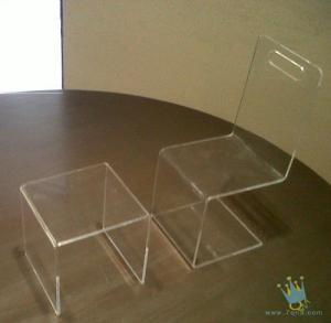 China clear acrylic furniture modern on sale