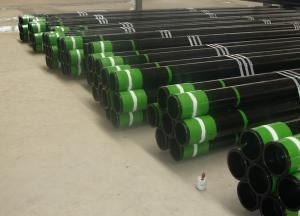 China Cold Draw API 5CT 20 Steel Casing Pipe / H40 M65 K55 J55 N80 Oil Casing Pipe on sale