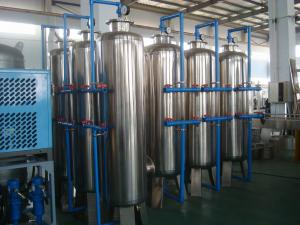 China Ion Exchanger City Water Treatment System RO Water Purifier Machine supplier