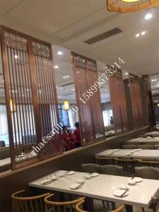 Restaurant stainless steel room divider made in china for sale