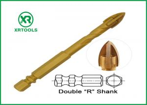 China Double R Hex Shank Drill Bits , 3 Flat 16mm Masonry Drill Bit With Flute on sale