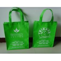 Orange Recycled Non Woven Shopping Bags for Sales Promotion