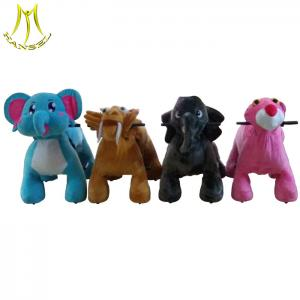 China Hansel funny battery powered children coin operated electric toys for mall on sale