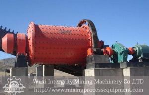 China Overflow Discharge Ball Mill Machine Iron Ore Beneficiation Plant supplier