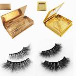 Wholesale mink eyelashes vendor with custom eyelash packaging