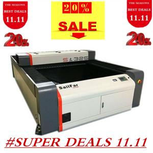 China 1300x2500mm 80-150w S1325 co2 laser cutting machines for industrial on sale