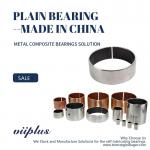 Metric Standard Size Available Cylindrical Bearing Composite Bushing