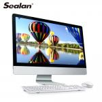 SEALAN all in one 23.6 inch desktop computer  i3 i5 i7 8g ram 480gb 1TB HDD aio pc with touch screen&built-in camera