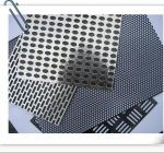 China gloden decorative metal tables cloth in aluminum beads wholesale