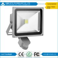 30W LED PIR Floodlight With Security Motion Sensor Home Garden Outdoor Waterproof Lamp