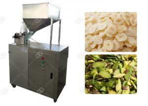 China Industrial Pistachio Nut Cutter Machine , Hazelnut Dry Fruit Slice Cutting Machine on sale