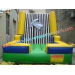China Velcro Walls,Sticky Games For Childrens Inflatable Sports Games 4L x 3.5W x 2.5H Meter wholesale