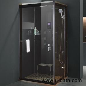 China U-Bath Easy to clean Tempered Glass Steam Shower Cabin Bathroom Showers on sale